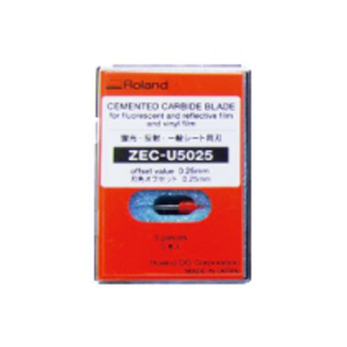 【お取寄せ品】 ローランド シート用カッター 静電プロッター用 ZEC-U5025 1箱(5個) 【送料無料】