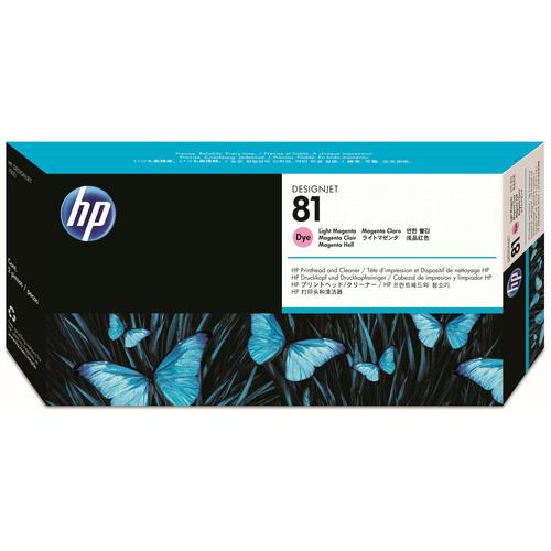 【お取寄せ品】 HP HP81 プリントヘッド/クリーナー ライトマゼンタ C4955A 1個 【送料無料】