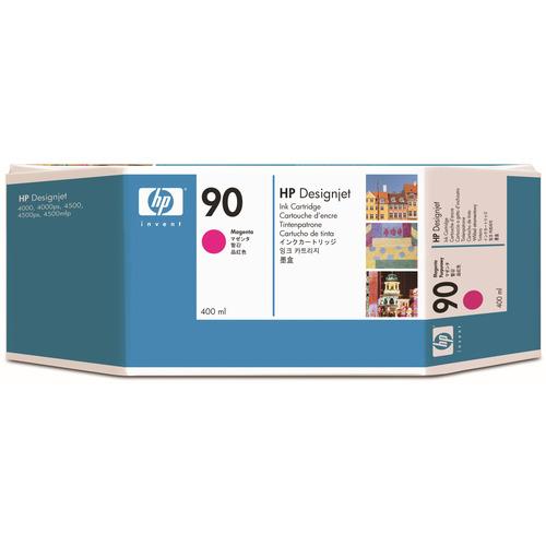 【お取寄せ品】 HP HP90 インクカートリッジ マゼンタ 400ml 染料系 C5063A 1個 【送料無料】