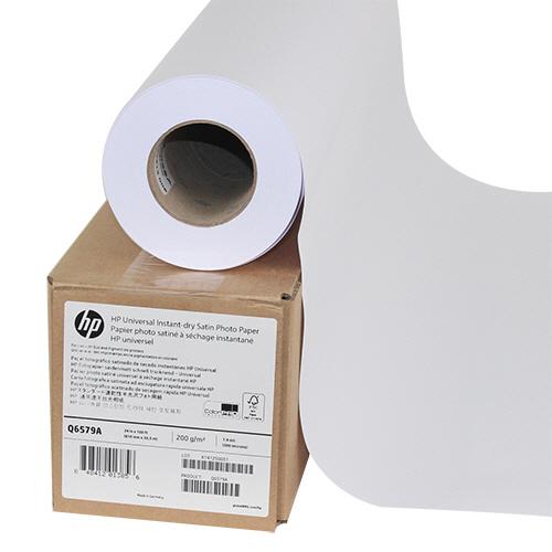 HP スタンダード速乾性半光沢フォト用紙 24インチロール 610mm×30m Q6579A 1本 【送料無料】