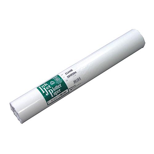 【お取寄せ品】 桜井 エココート紙IJ80 24インチロール 610mm×50m CIJ40Y 1箱(2本) 【送料無料】