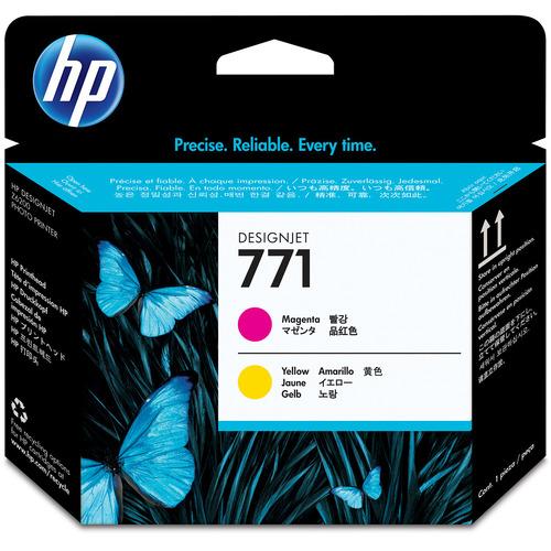 HP HP771 プリントヘッド マゼンタ/イエロー CE018A 1個 【送料無料】