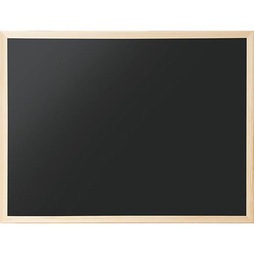 天然木フレームのシンプルなブラックボード ナカバヤシ 代引き不可 特価 ウッドカラーボード 1枚 CBM-E6247