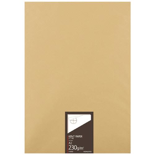 【お取寄せ品】 コクヨ 高級ケント紙 233g/m2 A2カット セ-KP37 1冊(100枚) 【送料無料】