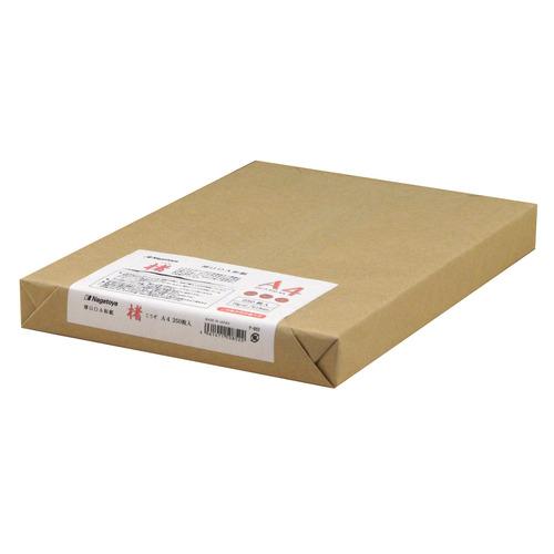 しっかりとした手触りのOA用和紙  長門屋商店 マルチOA和紙 A4 楮入奉書 白 ナ-852 1冊(250枚)