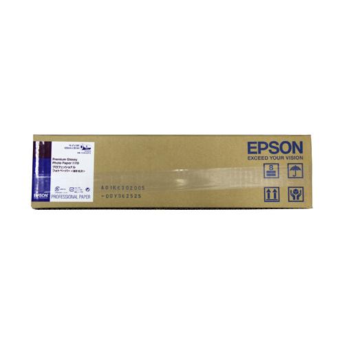 【お取寄せ品】 エプソン プロフェッショナルフォトペーパー(薄手光沢) A2ロール 420mm×30.5m PXMCA2R12 1本 【送料無料】