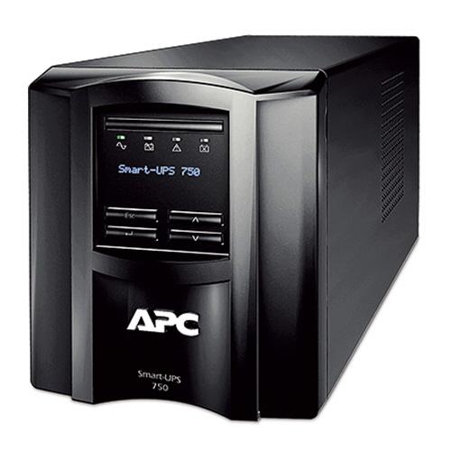 APC(シュナイダーエレクトリック) UPS 無停電電源装置 Smart-UPS 750 LCD 100V タワー型 750VA/500W SMT750J 1台 【送料無料】