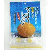 穏やかな酸味で香り高いマイヤーレモンをキャンディにしました。一粒食べれば気分爽快リフレッシュ!  マイヤーレモンキャンディ 100g 1袋