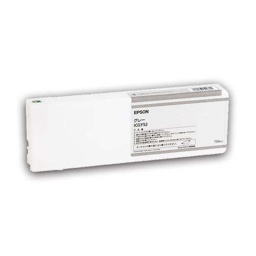 【お取寄せ品】 エプソン PX-P/K3(VM)インクカートリッジ グレー 700ml ICGY52 1個 【送料無料】
