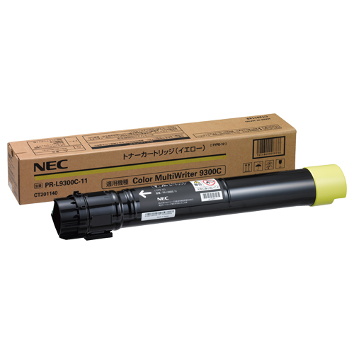 NEC トナーカートリッジ イエロー PR-L9300C-11 1個 【送料無料】