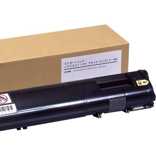 トナーカートリッジ LPCA3T12K 汎用品 ブラック 1個 【送料無料】
