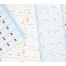 ライオン事務器 タックフォームラベル 10×11インチ 66×42mm(18片入) TF-523 1箱(500折) 【送料無料】