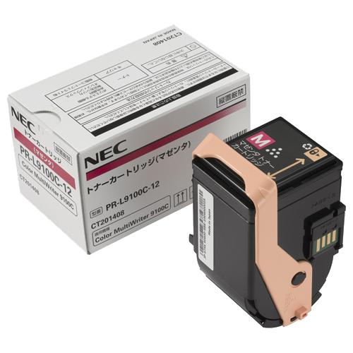 NEC トナーカートリッジ マゼンタ PR-L9100C-12 1個 【送料無料】