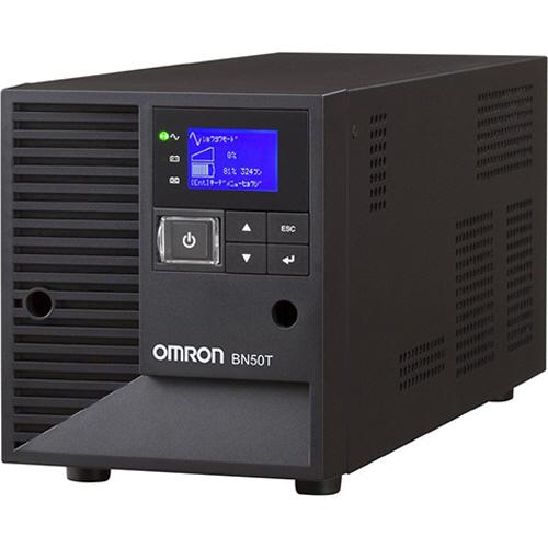 オムロン LCD搭載タワー型 ラインインタラクティブ UPS 500VA/450W BN50T 1台 【送料無料】