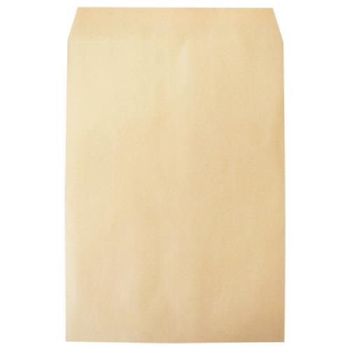 裏地紋付で透けにくいクラフト封筒 今村紙工 透けないクラフト封筒 即出荷 裏地紋付 角2 1パック テープ付 100枚 KFK2-T100 卓抜