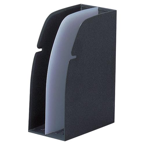 日本正規代理店品 デスクでもキャビネットでも 売買 連結可能なカラーブックスタンド リヒトラブ リクエスト ホルダースタンド 黒 1個 G1630-24