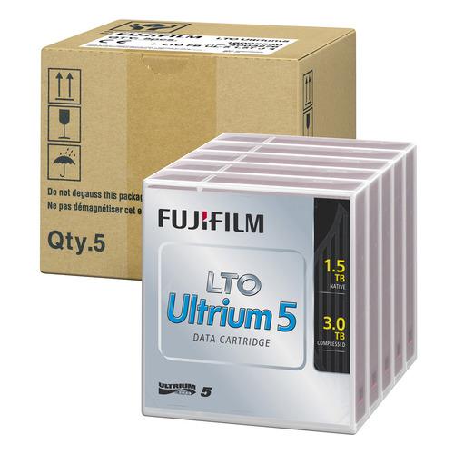 【お取寄せ品】 富士フイルム LTO Ultrium5 データカートリッジ 1.5TB LTO FB UL-5 1.5T JX5 1パック(5巻) 【送料無料】