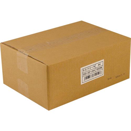 【お取寄せ品】 中川製作所 ラミフリー A4 0000-302-LNA4 1箱(500枚) 【送料無料】