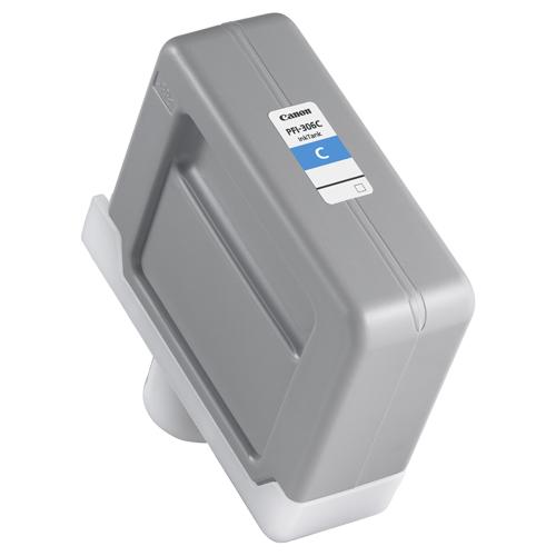 【お取寄せ品】 キヤノン インクタンク PFI-306C 顔料シアン 330ml 6658B001 1個 【送料無料】