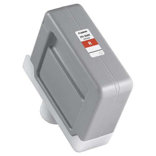 【お取寄せ品】 キヤノン インクタンク PFI-306R 顔料レッド 330ml 6663B001 1個 【送料無料】