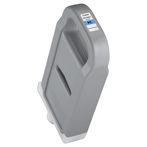 【お取寄せ品】 キヤノン インクタンク PFI-706PC 顔料フォトシアン 700ml 6685B001 1個 【送料無料】