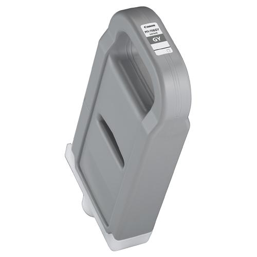 【お取寄せ品】 キヤノン インクタンク PFI-706GY 顔料グレー 700ml 6690B001 1個 【送料無料】