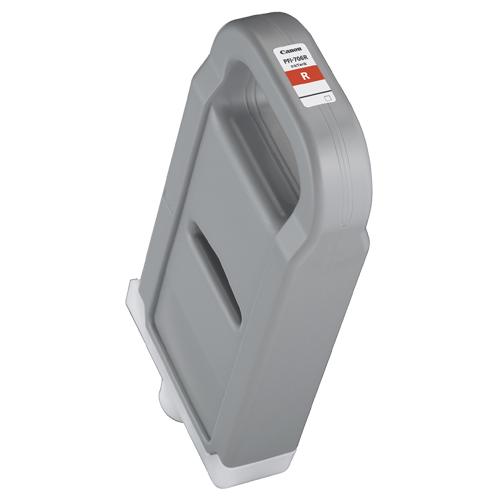【お取寄せ品】 キヤノン インクタンク PFI-706R 顔料レッド 700ml 6687B001 1個 【送料無料】