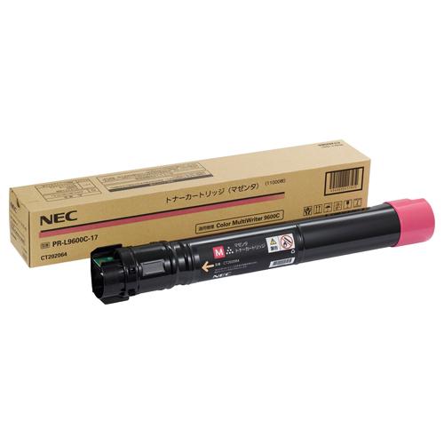 NEC 大容量トナーカートリッジ マゼンタ PR-L9600C-17 1個 【送料無料】