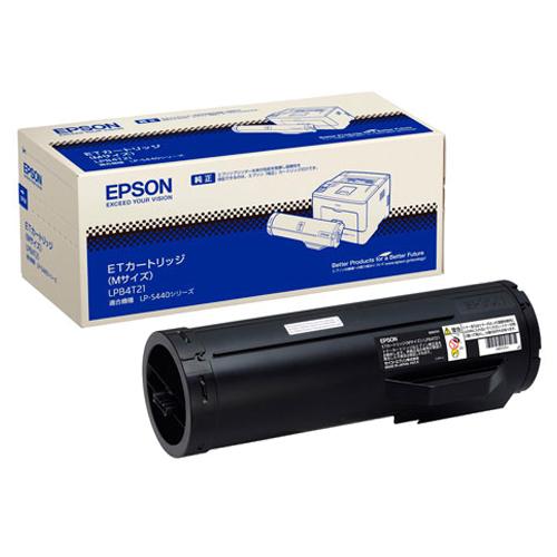 【お取寄せ品】 エプソン ETカートリッジ Mサイズ LPB4T21 1個 【送料無料】