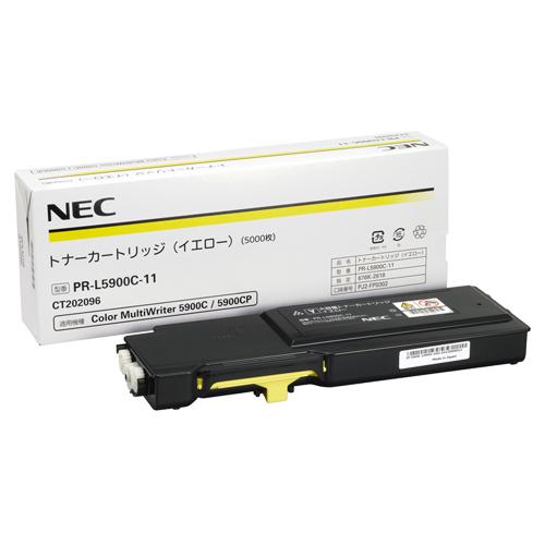 NEC トナーカートリッジ イエロー PR-L5900C-11 1個 【送料無料】