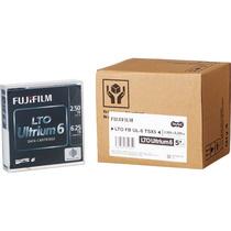 TANOSEE 富士フイルム LTO Ultrium6 データカートリッジ 2.5TB/6.25TB 1パック(5巻) 【送料無料】