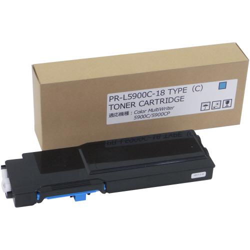 【お取寄せ品】 トナーカートリッジ PR-L5900C-18 汎用品 シアン 1個 【送料無料】