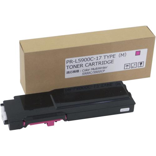 【お取寄せ品】 トナーカートリッジ PR-L5900C-17 汎用品 マゼンタ 1個 【送料無料】