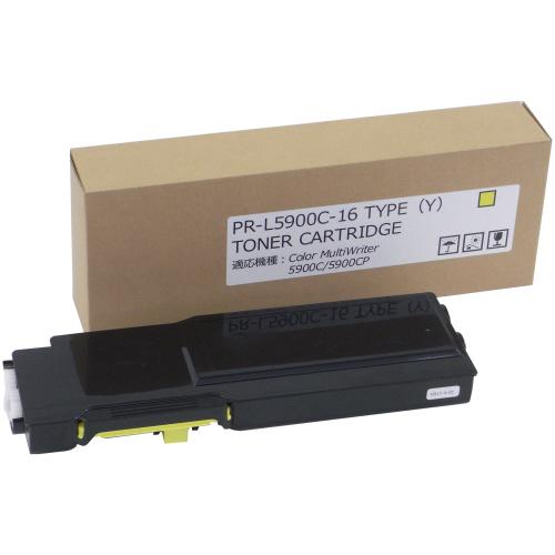 【お取寄せ品】 トナーカートリッジ PR-L5900C-16 汎用品 イエロー 1個 【送料無料】