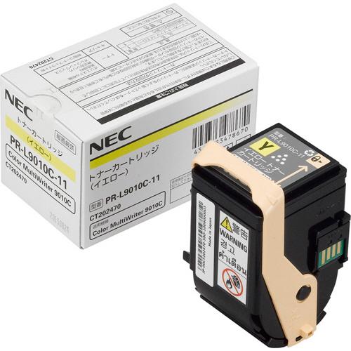 【お取寄せ品】 NEC トナーカートリッジ イエロー PR-L9010C-11 1個 【送料無料】