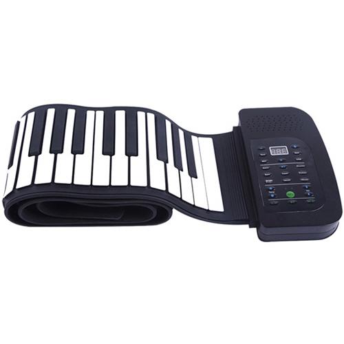 ナカガミ smaly ロールアップピアノ 88鍵盤 ブラック SMALY-PIANO-88 1台 【送料無料】