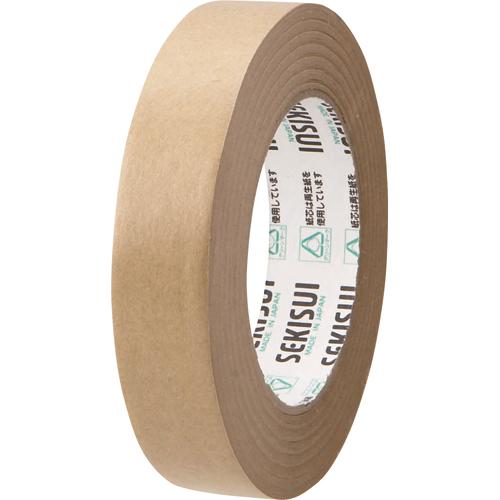 優れた保持力、安定した品質。  積水化学 クラフトテープ No.500 25mm×50m ダンボール色 K51X11 1巻
