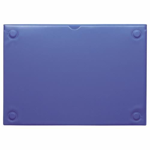 ライオン事務器 マグネットカードケース A4 ブルー MCC-A4 1枚
