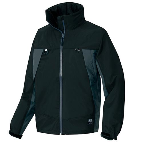 【お取寄せ品】 アイトス 全天候型ジャケット ブラック×チャコール Lサイズ AZ-56301-010-L 1着 【送料無料】