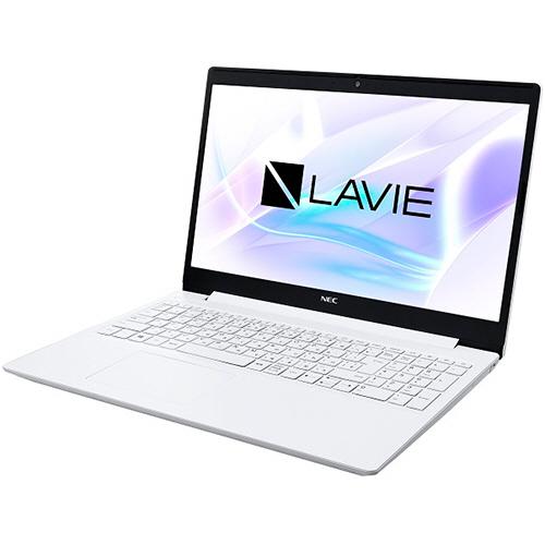 NEC LAVIE Smart NS 15.6型 Celeron 4205U 1.80GHz 500GB カームホワイト PC-SN18CJTAF-5 1台 【送料無料】