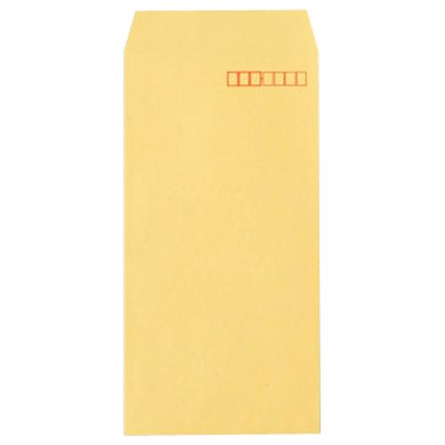 再生紙40%でエコロジークラフト封筒  TANOSEE R40クラフト封筒 長3 70g/m2 〒枠あり 1パック(100枚)