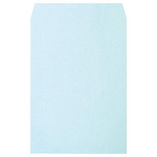 透けないパステルカラー封筒 ハート メーカー公式ショップ 透けないカラー封筒 ワンタッチテープ付 角2 100g 贈答 XEP471 100枚 1パック m2 パステルブルー 〒枠なし