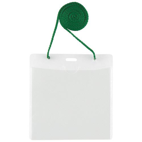 危ない時にケースからひもが外れる安全機構付 プラス イベント用 吊り下げ式 名札 イベントサイズ 1パック 50個 数量限定アウトレット最安価格 グリーン CT-E1 高級