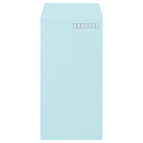 高級感のあるソフトな色合い キングコーポレーション ソフトカラー封筒 長3 80g m2 N3S80B 1パック ブルー 〒枠あり 100枚 保障 新着セール