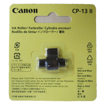 プリンタ電卓用インクローラー キヤノン 贈り物 CP-13II 1個 信用 2色印字 5166B001