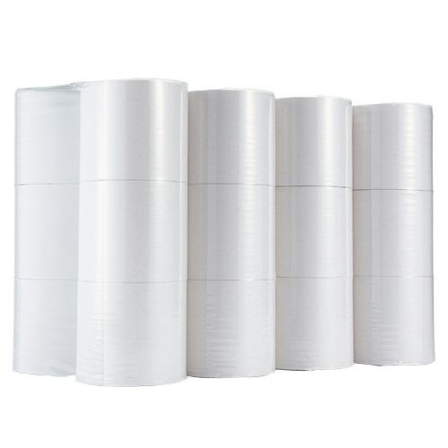TANOSEE トイレットペーパー シングル 芯なし 250m 1セット(240ロール:24ロール×10ケース) 【送料無料】