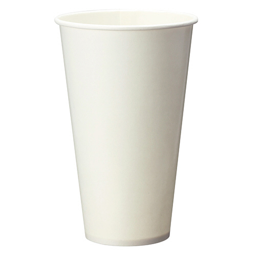 TANOSEE 両面ラミネート加工ペーパーカップ 420ml(14オンス) 1セット(1400個:50個×28パック) 【送料無料】