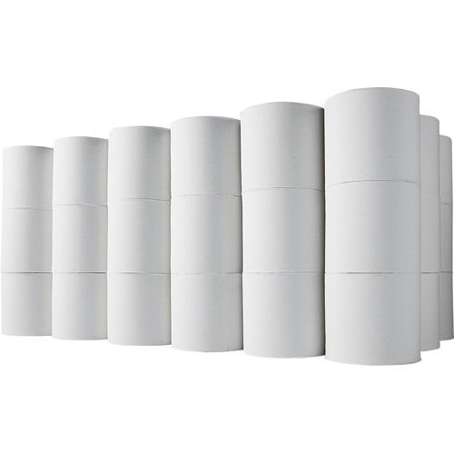 TANOSEE トイレットペーパー 無包装 シングル 芯なし 150m 1セット(144ロール:48ロール×3ケース) 【送料無料】