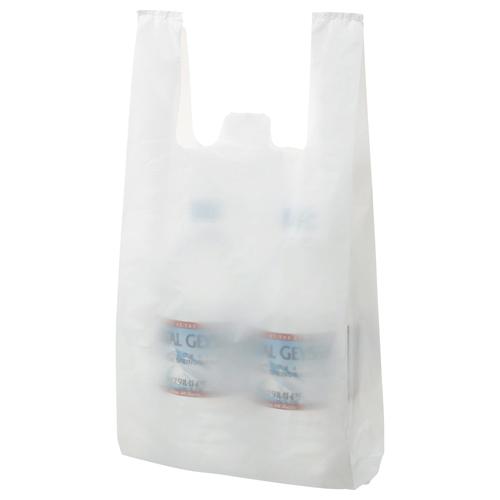安心 トレンド セール 登場から人気沸騰 安全の国産オリジナルブランド TANOSEE 乳白レジ袋 20号 ヨコ215×タテ450×マチ幅125mm 100枚 1パック