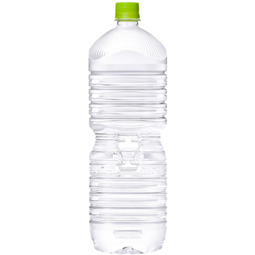 100%品質保証! 環境に配慮したラベルレスタイプ コカ コーラ い ろ は す ペットボトル 1ケース 天然水 2020 新作 2L ラベルレス 6本